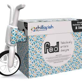 """Беговел-каталка Chillafish Bunzi (авторский дизайн с """"зайчиками"""",резиновые колеса)"""